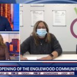 Shelley Cooper and Sandy Mitchell on Fox32 Chicago