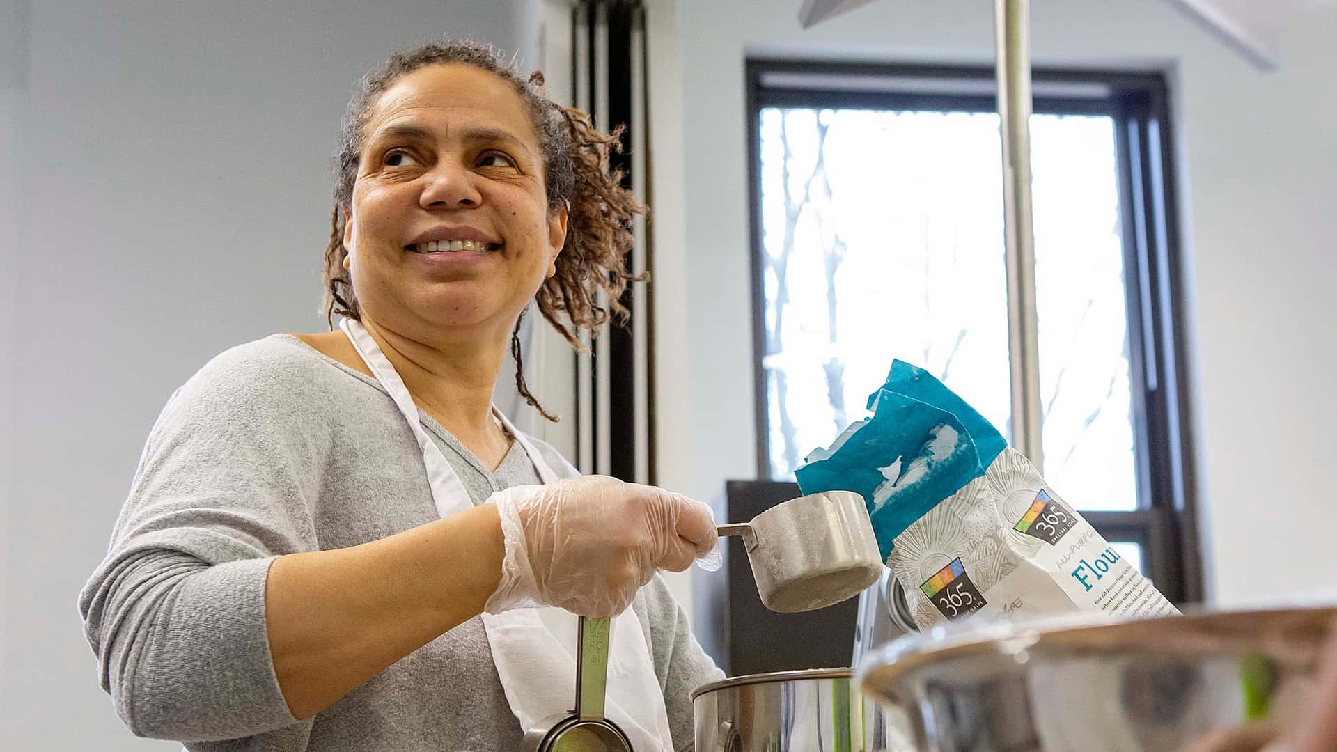 Sandy Mitchell at Englewood Community Kitchens